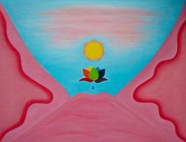 A landscape - painting