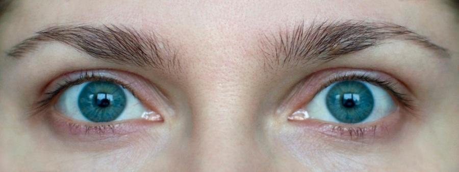 before applying mascara