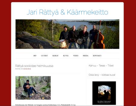 Jari Rättyä & Käärmekeitto - official band page