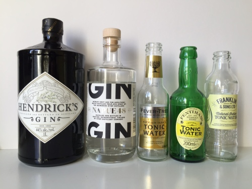 Gins and tonics