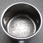 white stains in pans
