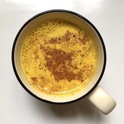 Turmeric latte
